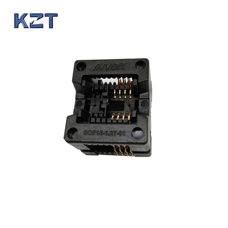 SOP8 SOIC8 SO8 Queimar no Soquete Passo 1.27mm IC Largura Do Corpo 3.9mm Adaptador 150mil IC Socket Test
