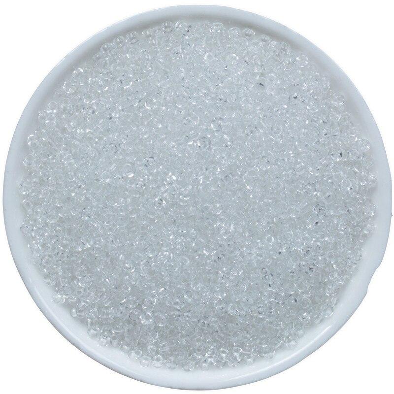 Cuentas con agujeros de cristal checo, espaciador cuentas abalorios para joyería, 2mm,...