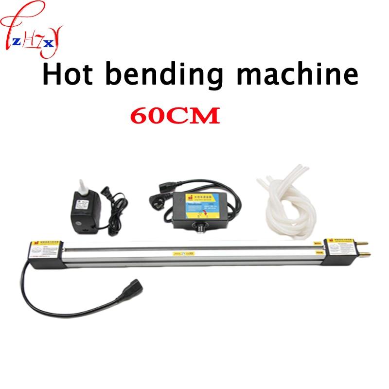 1 مجموعة 23 '(60 سنتيمتر) الاكريليك الساخن الانحناء آلة شبكي PVC البلاستيك مجلس الانحناء جهاز الإعلان علامات و ضوء مربع