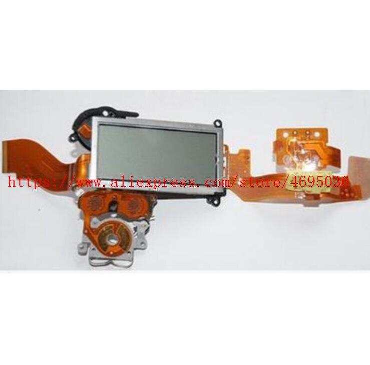 95% nuevo D300 LCD superior pantalla de visualización Carcasa protectora superior Flex Cable FPC prueba de trabajo perfecto para Nikon D300
