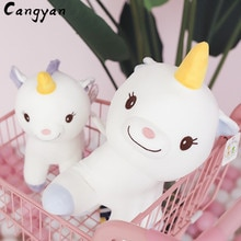 28cm angel unicorn plush toy kids favorite animal children gift