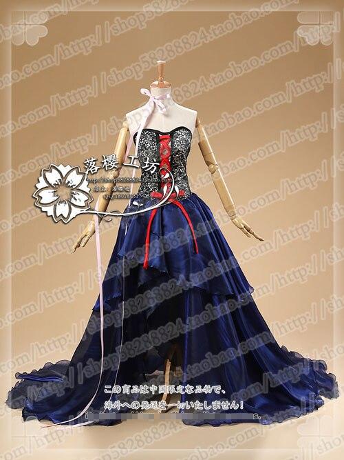Disfraz de Cosplay de disfraz negro de Freya Chobits, Envío Gratis