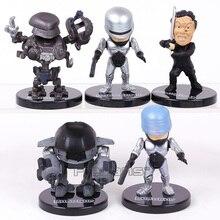 Экшн-фигурки RoboCop ED-209, ПВХ, 5 шт./компл., 6 ~ 7 см
