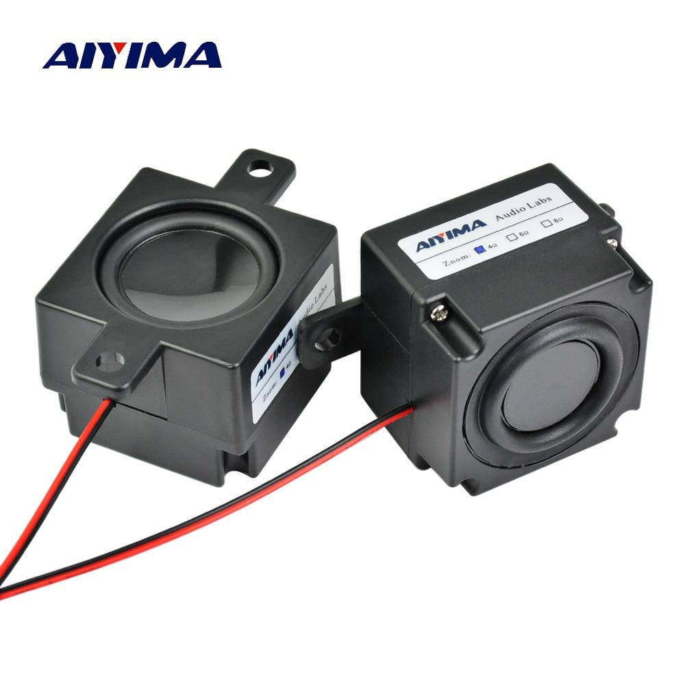 AIYIMA-minialtavoces portátiles de Audio, columna de Altavoz portátil de 4ohm, 3W, diámetro...