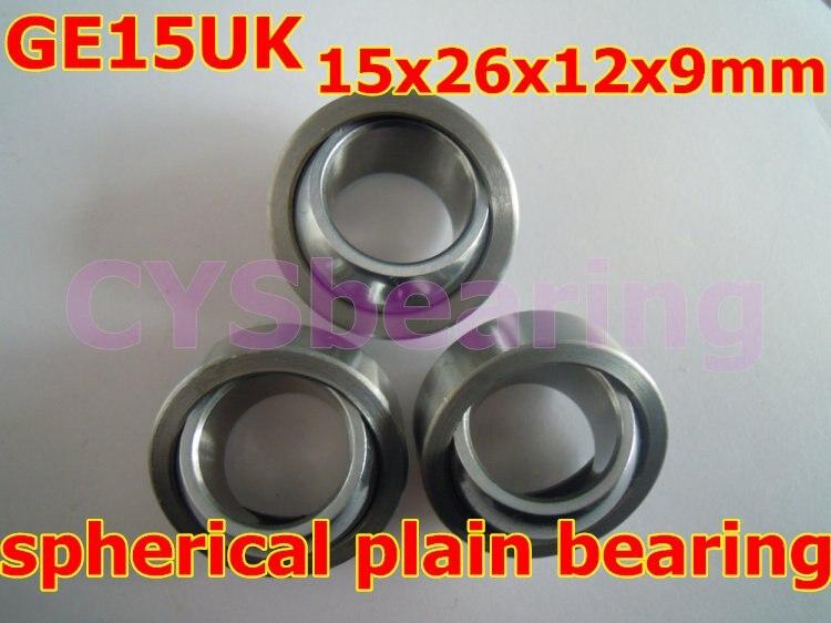 GE15UK GE15C radial shaft spherical plain bearing with self-lubrication