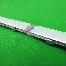 Canal led 2-30 pcs/lot, 0.5 m/pc, profil en aluminium liaison pour 5050,5630 bandes led, boîtier déclairage de la barre de connexion pour PCB de 15mm