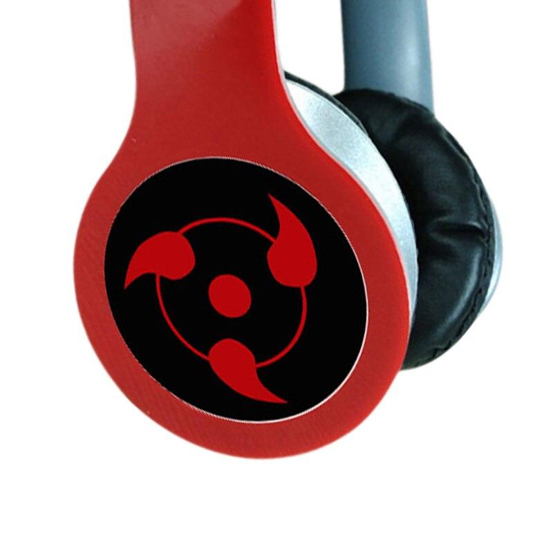 Наушники с логотипом аниме «Наруто», игровая гарнитура custom EXO, стереонаушники с микрофоном для мобильного телефона, Mp3, ПК в подарок