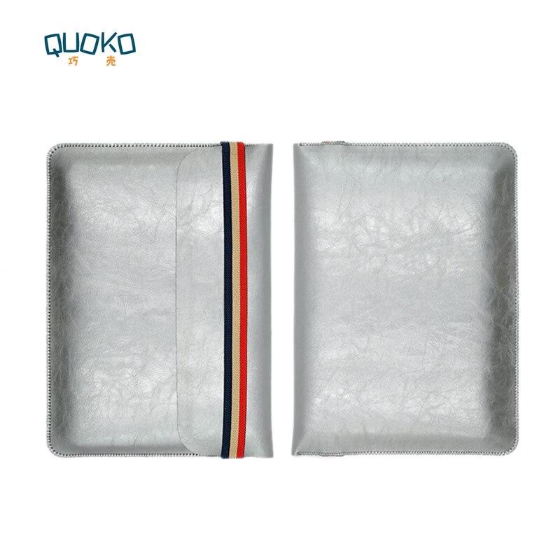 Laptop bag case Microfiber Leather Sleeve for Lenovo Yoga 720 730 13/15 inch Coloured elastic band Style sleeve
