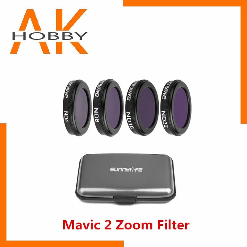 Sunnylife-Juego de filtros para lentes Mavic 2, accesorios de filtro para Dron...