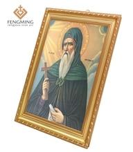 Cadre photo platique icônes orthodoxes   Rabais, cadre photo pour cadeaux religieux chrétiens, images de jésus-Christ dieu, art, 2017