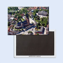 Imanes de nevera 78*54mm,Uppsala Suecia imanes de nevera rígidos de viaje 20850