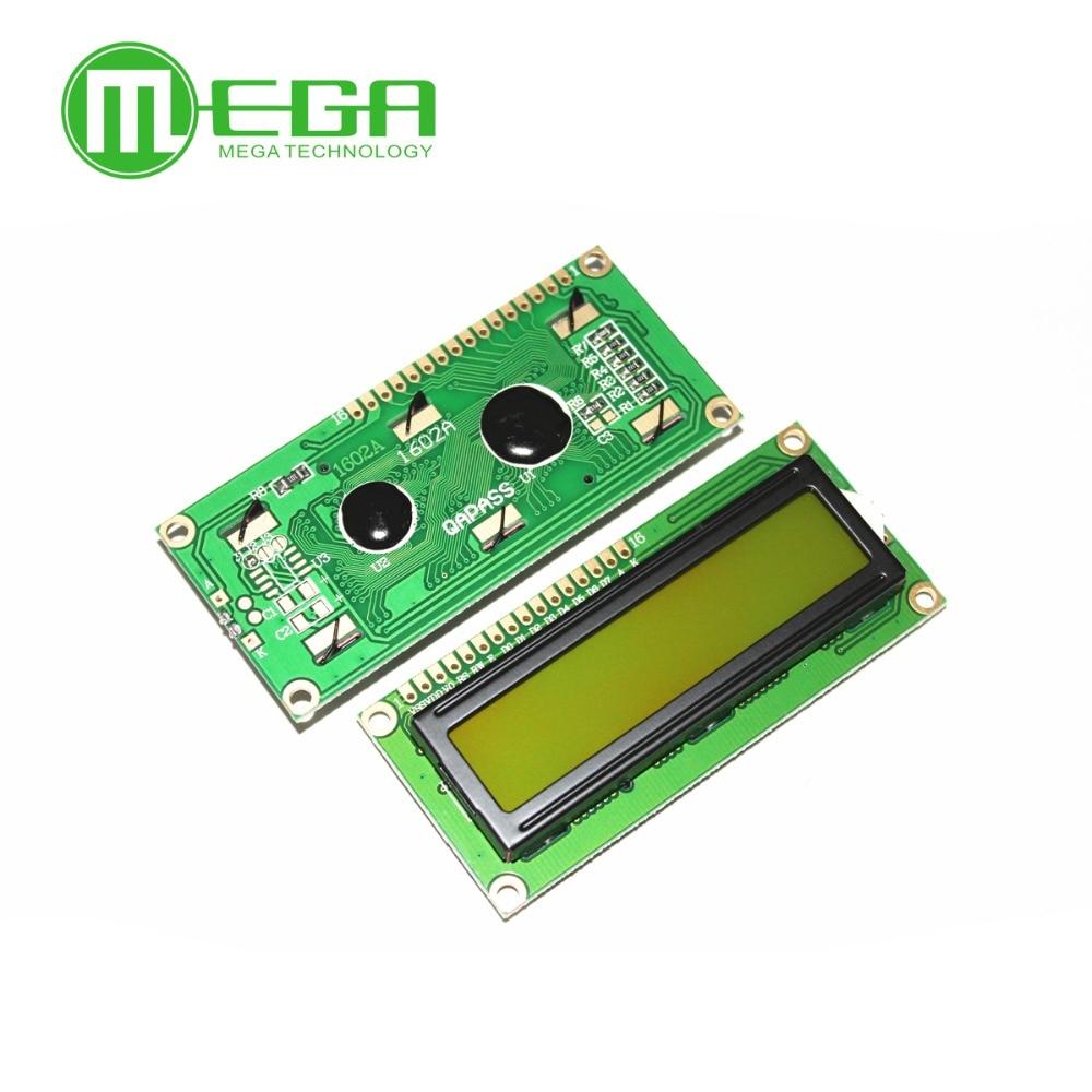 LCD1602 1602 Modulo Blu/Giallo Schermo Verde 16x2 Caratteri Display LCD Modulo