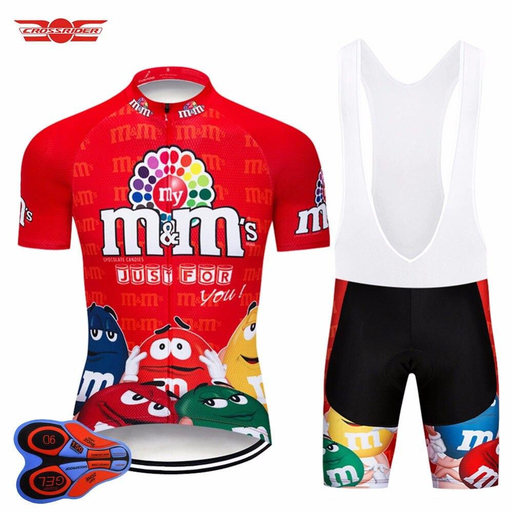 2020 jerséis de ciclismo divertidos de manga corta para hombre MTB ropa para bicicleta de montaña ropa de bicicleta de carretera transpirable Bib Gel Set Maillot Culotte