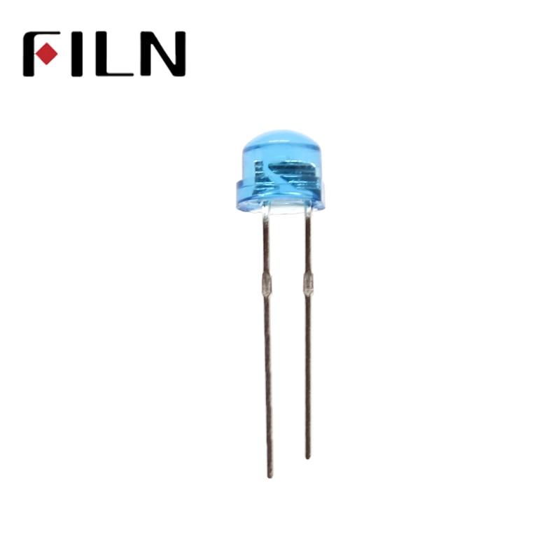100pcs/lot 5mm diffused blue bidirectional LED Emitting Diode Lamp Super Bright LED Light 2 pin enlarge