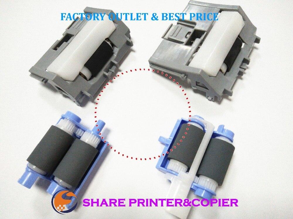 Compartir Pickup roller Assembly separación pad para HP M402 M403 M426 M427 M501 M506 M527 RM2-5745 RC4-4346 RM2-5452 RM2-5397