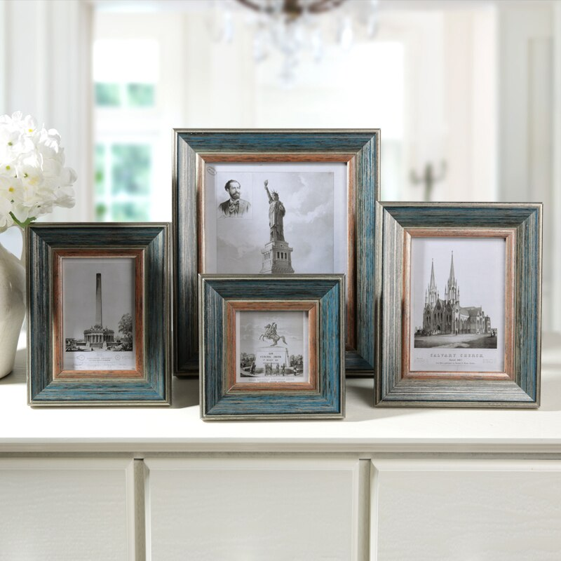 Neue Stil Holz Bilderrahmen, Kreative Vintage Stil Foto Rahmen, Klassische Foto Rahmen Familie, hochzeit Bilderrahmen Wand Desktop