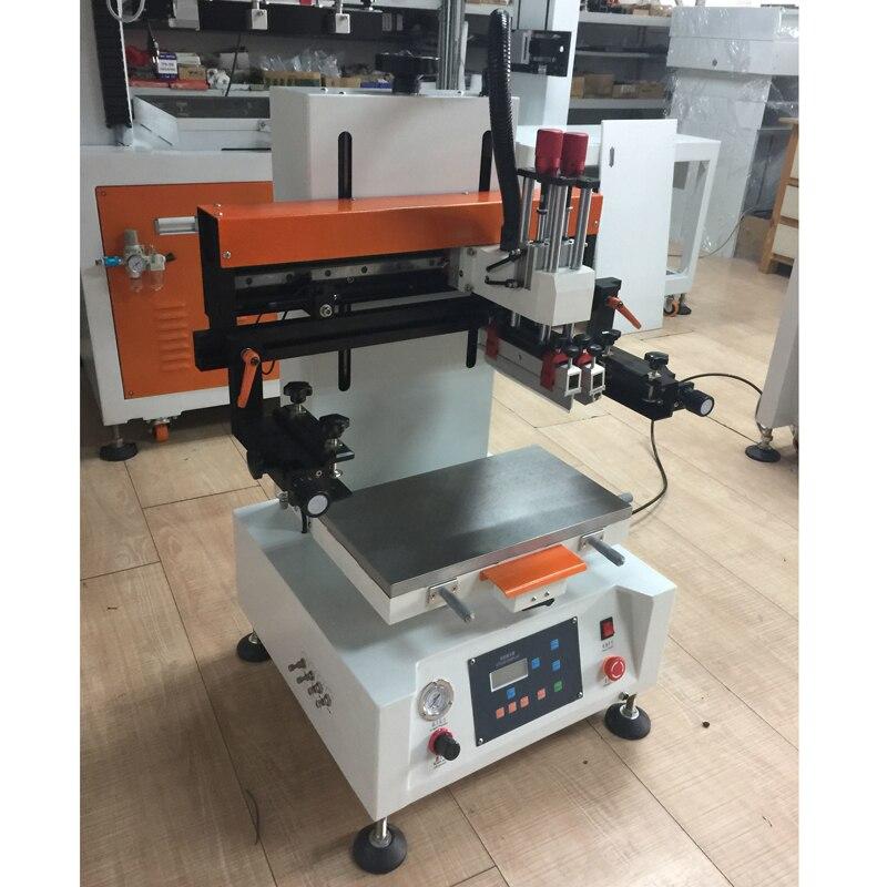 Impressora semi automática da tela de seda dos circuitos eletrônicos com vácuo