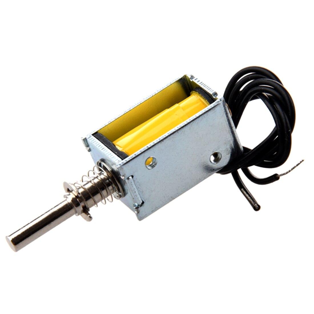 5 в 0.83A 1 мм 100 г 2 50 пусковой Тип открытая рама пружинный Плунжер DC электромагнитный