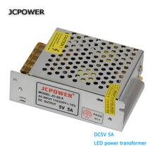 Conducteur de LED 5V 5A 25W conducteur dalimentation à découpage pour bande de LED ca 110V 220V entrée au transformateur de tension led DC5V
