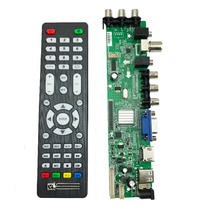 Ds. D3663LUA.A81 DVB-T2 Dvb-t DVB-C Digitale Tv Lcd/Led Driver Board 15-32 Inch Universele Lcd Tv Controller Driver board 3663