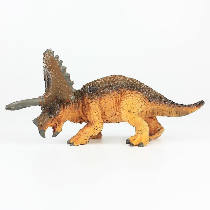 Triceratops Baby modelo de dinosaurio simulado colección de museo criaturas antiguas juguetes para niños