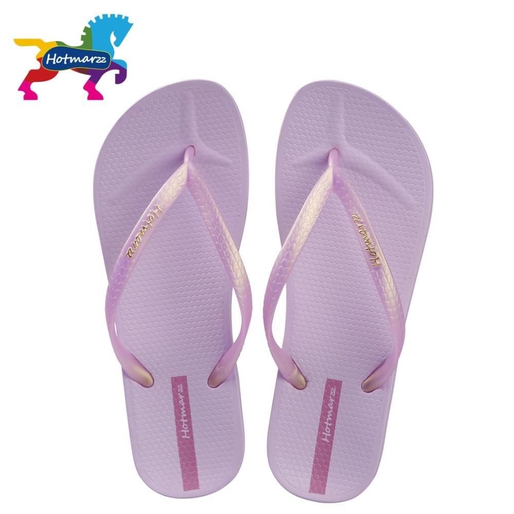 Hotmarzz Women Slim Flip Flops Ladies Beach Slippers Fashion Summer Sandals Pool Shower Shoes