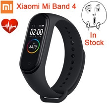 Original Xiaomi Mi Band 4 Smart Miband 3 couleurs AMOLED écran Bracelet fréquence cardiaque Fitness Tracker bluetooth 5.0 étanche Miband4