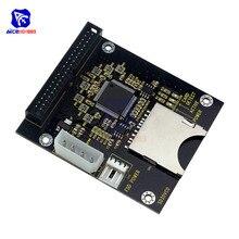Prise SD à 40Pin IDE 3.5 'convertisseur de cartes adaptateur de disque dur pour Audrino