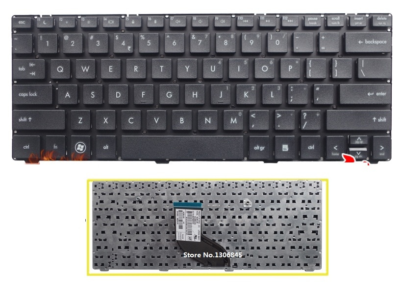 SSEA-لوحة مفاتيح أمريكية جديدة للكمبيوتر المحمول HP ProBook 4230s 4230 4231S ، سوداء ، بدون إطار