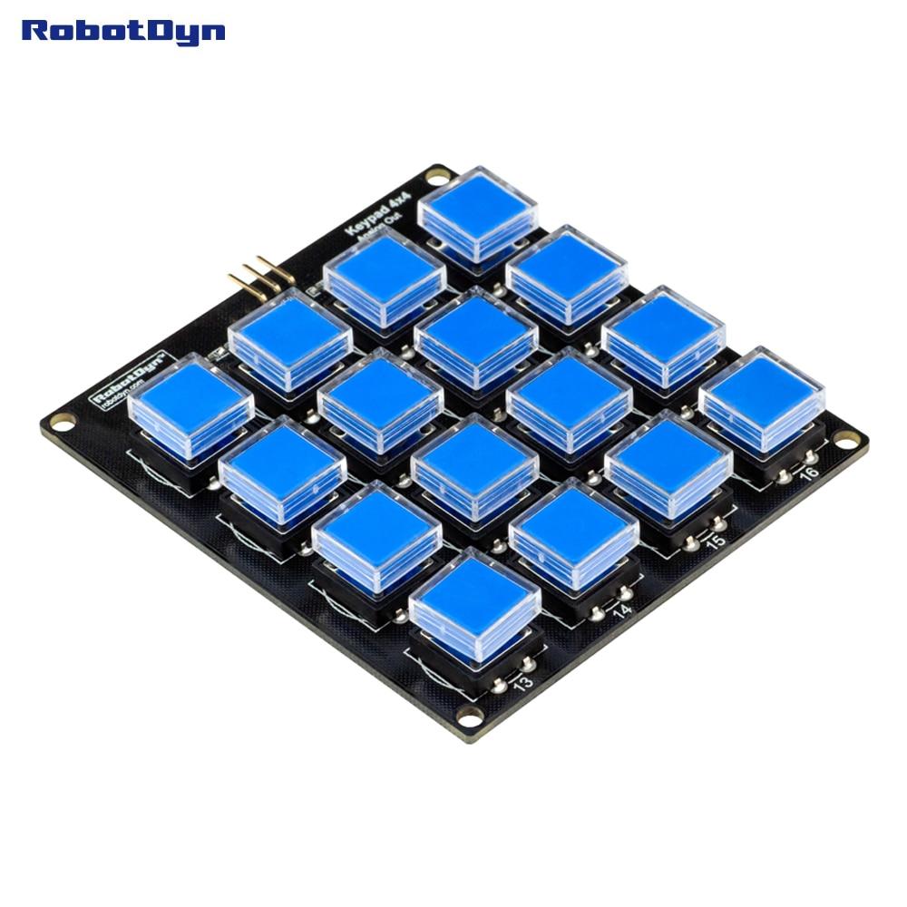 Кнопочный модуль клавиатуры 4x4. Один а�