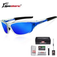 Queshark UV400 Polarized Cycling Glasses Sports Bicycle Sunglasses Bike Glasses Ski Goggles Fishing Cycling Hiking Eyewear