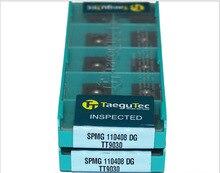 Taegutec CNC insère Taegutec outil de coupe SPMG 110408 DG TT9030