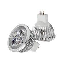 1 pièces Dimmable MR16 LED ampoule lumière GU5.3 Base 9 W 12 W 15 W lampe à LED AC DC 12 V Lampada LED spot Downlight blanc chaud/froid