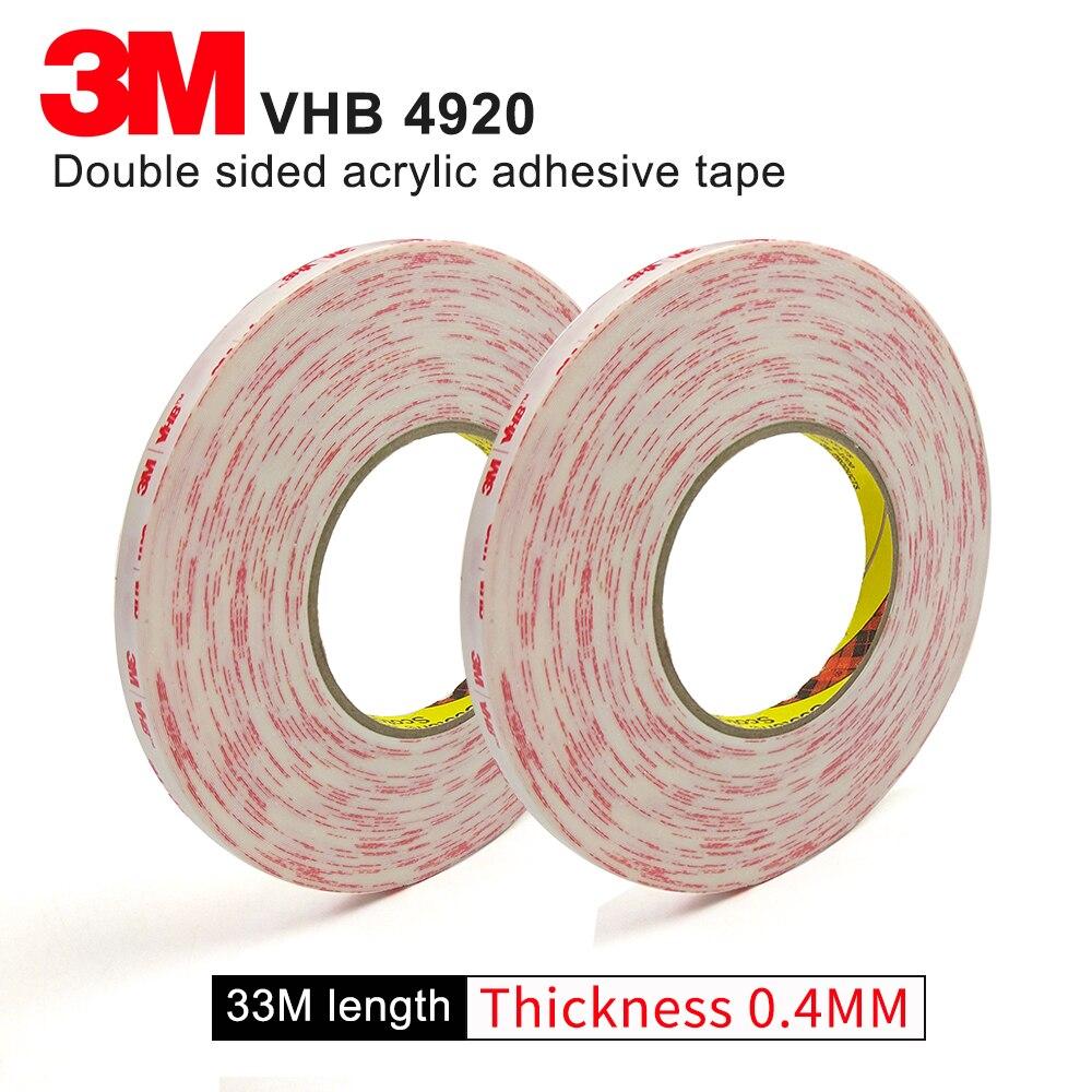 3M VHB 4920 اثنين الوجه الاكريليك لاصق للماء المقاومة الشريط/عالية لزجة الشريط/12 مللي متر * 33M