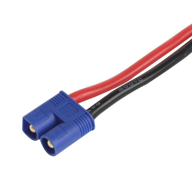1 unidad para conector de Banana macho RC EC2 A Adaptador de cable hembra de enchufe XT60 para batería Lipo RC