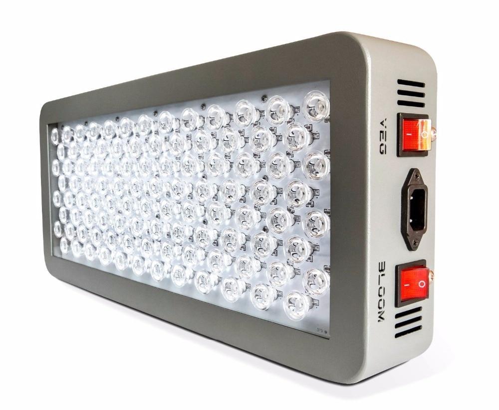 10pcs P300 LED grow light 300W dual mode veg& bloom full spectrum optical lens hydroponics indoor garden grow tent system