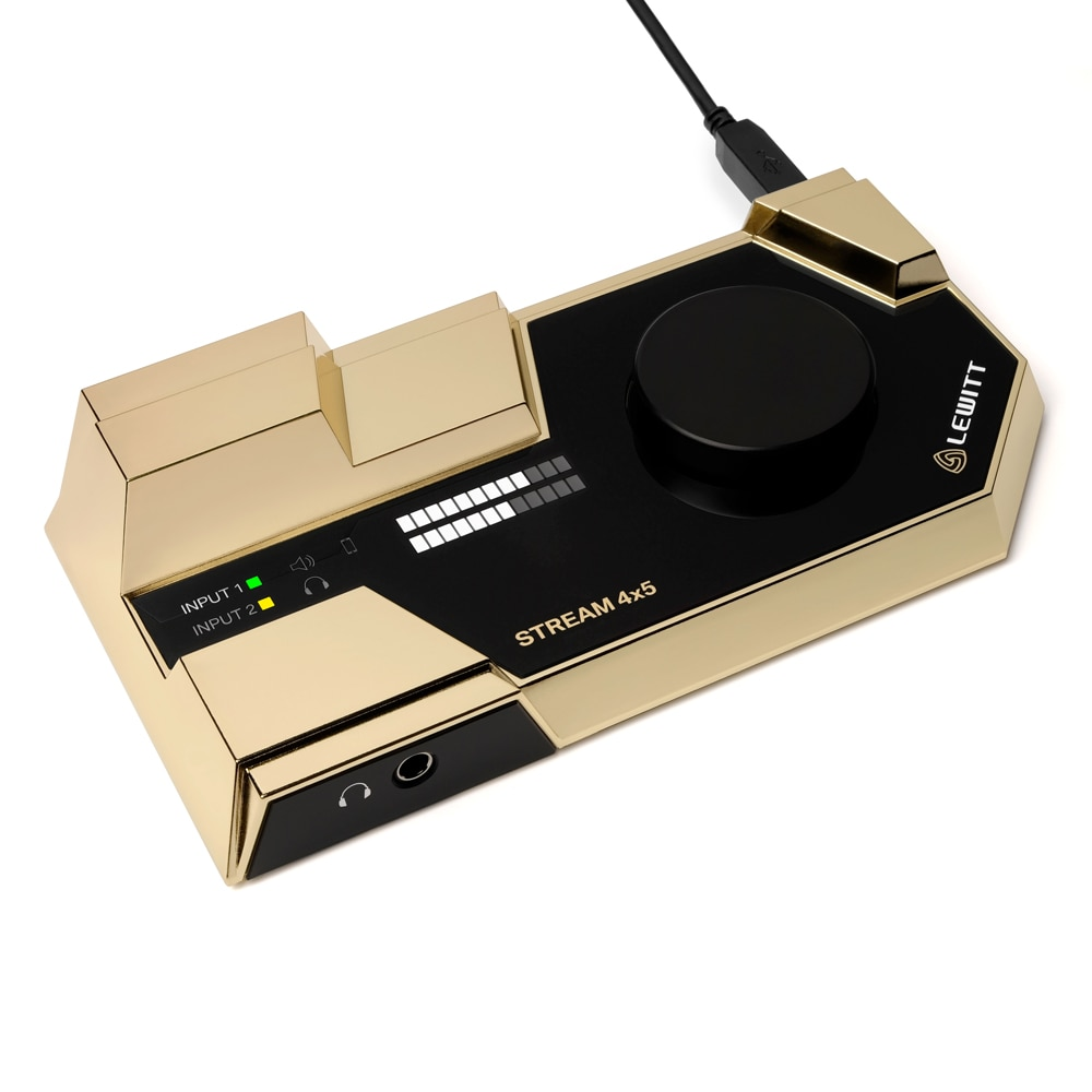 Micrófono para grabación profesional Leyton STREAM 4x5