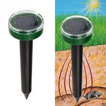 Hot New Mole Repellent Solar Power Eco-Friendly Ultrasonic Pest Gopher Mole Snake Repellent Mouse Trap