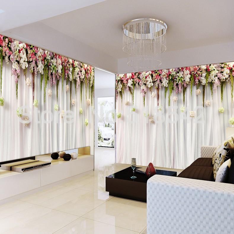 Niestandardowe zdjęcia tapety stereoskopowe 3d europejskiej duszpasterska włókniny mural sypialnia salon tło wystrój domu tapety 6