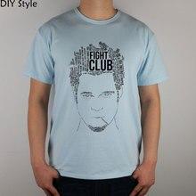 Camiseta I AM JACK BRAD PITT FIGHT CLUB algodón Lycra top moda marca camiseta hombres nueva alta calidad