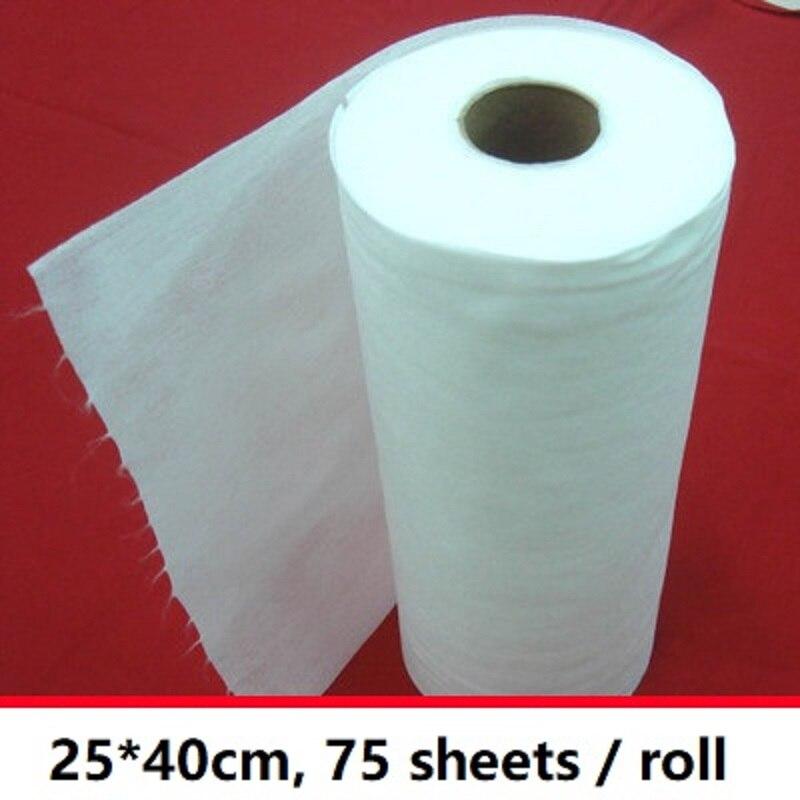 Sauber möbel non woven stoff scheuer pad 75 blätter/rolle mehrzweck dishclout elektro staub papier für swiffer XXL