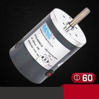 DC ZYTD-60SRZ-R 12V 24V 60mm Micro Adjustable Speed Motor Reversing 1200RPM-10000RPM