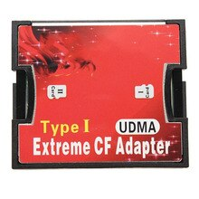 Carte mémoire MicroSD vers adaptateur de carte CF carte TF Micro SD/HC vers Flash Compact Type I lecteur de carte mémoire convertisseur double fente
