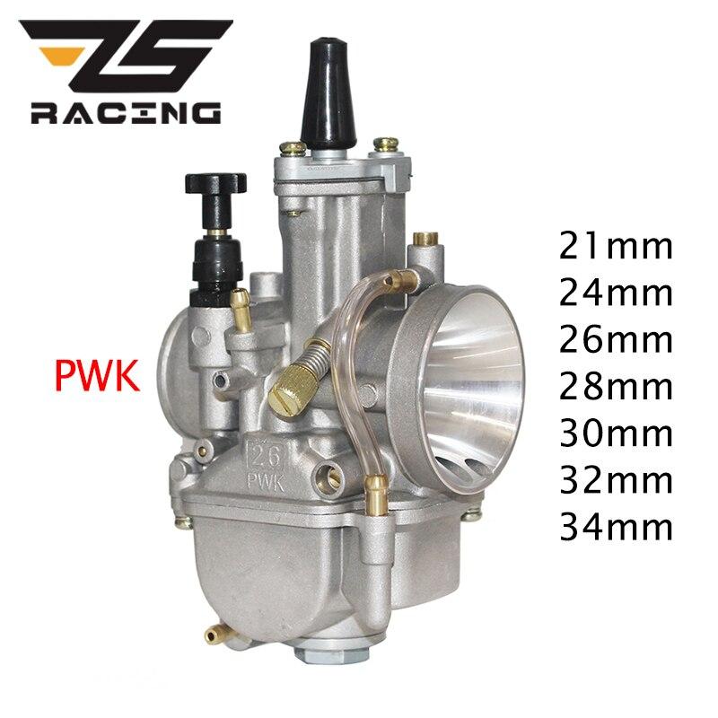 ZS de 21 24 26 28 30 32 34mm de PWK Carburador con poder Jet para Mikuni Koso para Yamaha para Honda ATV