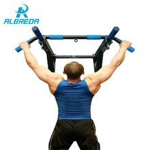 ALBREDA NEW Body Workout Third-generation wall horizontal bar interior door fitness equipment horizontal bar chin up bars sit-up