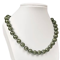 10mm polish light green imitation pearls beads making for diy necklace 18inch earring 1 5inch for the closest friend h133
