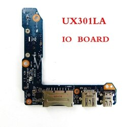 UX301LA IO_VER2_BOARD REV2.1 para ASUS UX301LA UX301 UX301L PLACA SSD USB IO BOARD 100% Teste ok