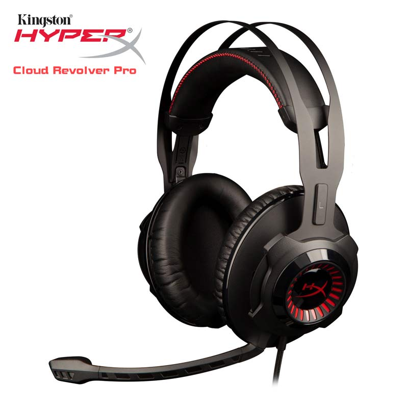 Kingston HyperX Cloud revólver S juegos extraíble de auriculares con micrófono juego de música MP3 DJ PS4 auriculares de 3,5mm para PC