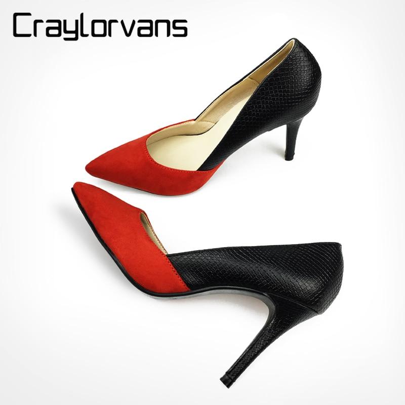MAYA-zapatos de tacón alto finos para mujer, calzado sexy de punta, informales o de fiesta, colores negros, 2018