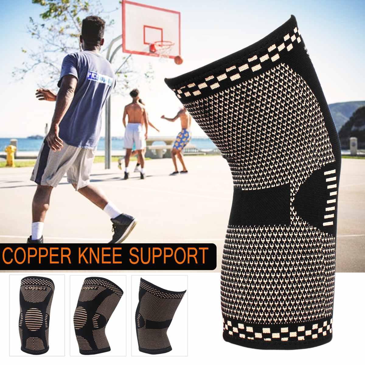 1 ud. Rodillera de cobre, rodillera para artritis, lesión, compresión de pierna